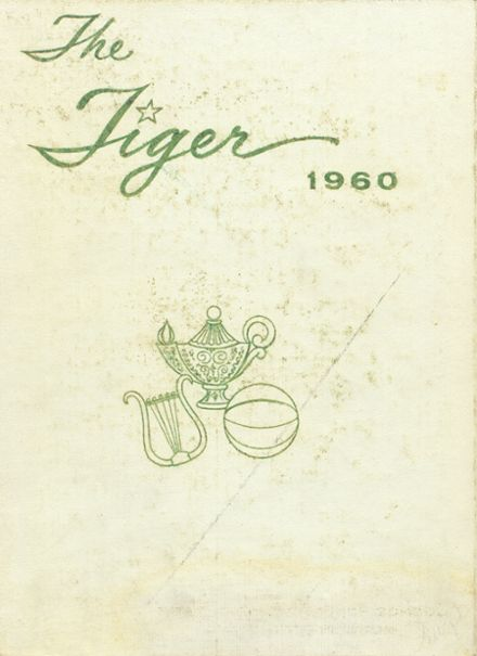 1960 Worth County R-III High School Yearbook Cover