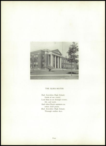 1941 Sewickley High School Yearbook Page 8