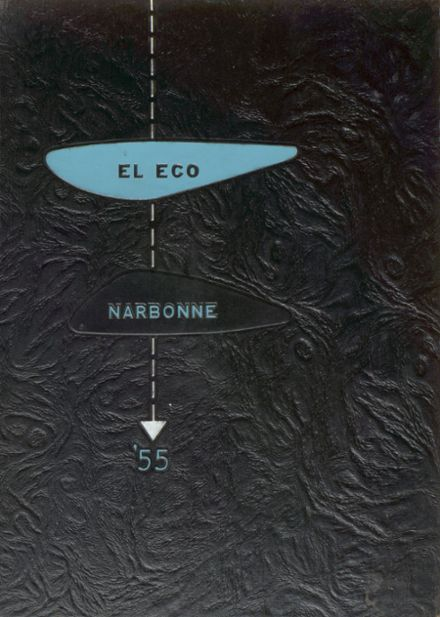 1955 Nathaniel Narbonne High School Yearbook Cover