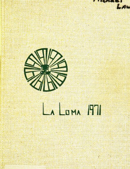 1971 Los Alamos High School Yearbook Cover