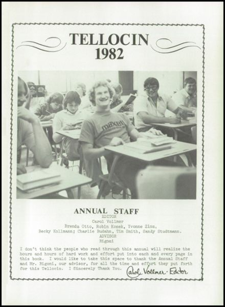 1982 Nicollet High School Yearbook Page 5
