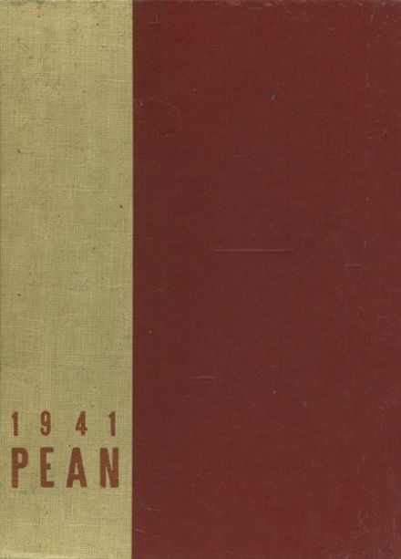 1941 Phillips Exeter Academy Yearbook Cover