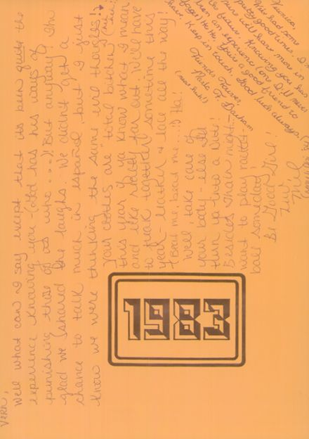 1983 Ripon High School Yearbook Page 3
