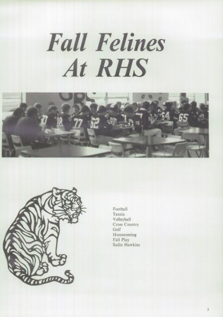 1983 Ripon High School Yearbook Page 7