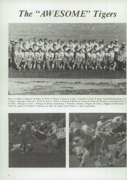 1983 Ripon High School Yearbook Page 8