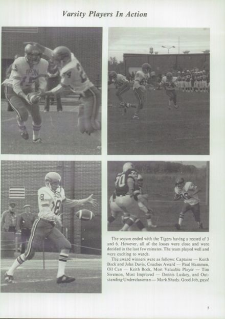 1983 Ripon High School Yearbook Page 9