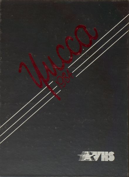 1984 Antelope Valley High School Yearbook Cover