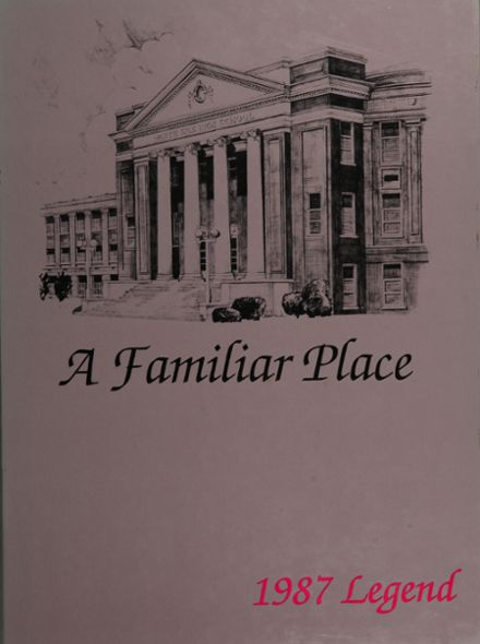 1987 North Side High School Yearbook Cover