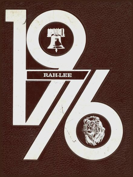 1976 Raleigh High School Yearbook Cover