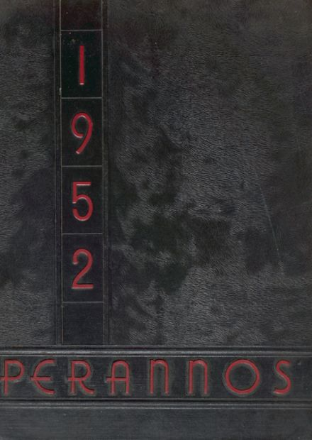 1952 New Canaan High School Yearbook Cover