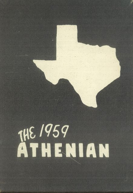 1959 Sherman High School Yearbook Cover