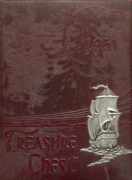 1951 Mepham High School Yearbook Cover