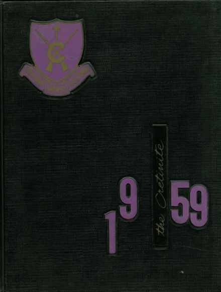 1959 Cretin High School Yearbook Page 1