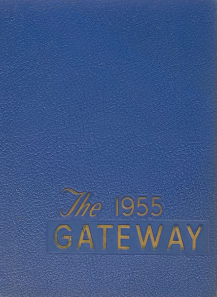 1955 Sacred Heart High School Yearbook Cover