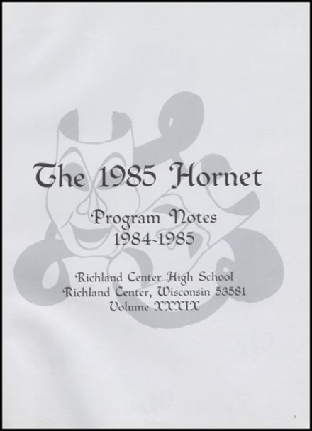 1985 Richland Center High School Yearbook Page 5