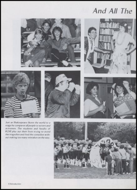 1985 Richland Center High School Yearbook Page 8