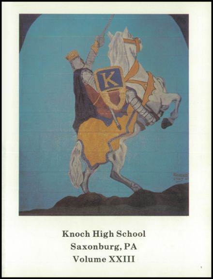 1981 Knoch High School Yearbook Page 5