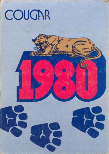 1980 Crow High School Yearbook Cover