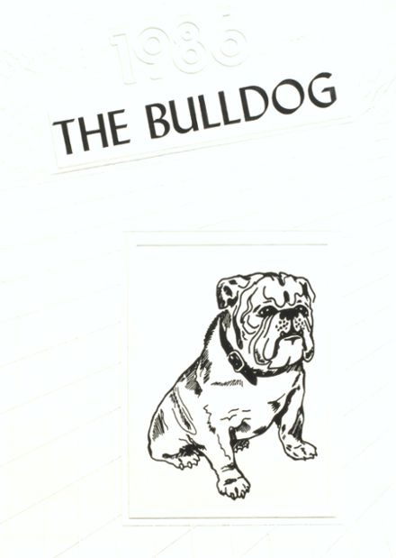 1986 Maysville High School Yearbook Cover