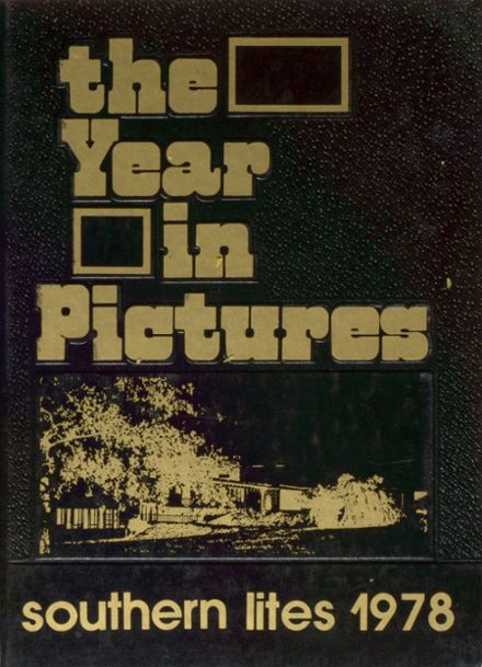 1978 Solanco High School Yearbook Cover