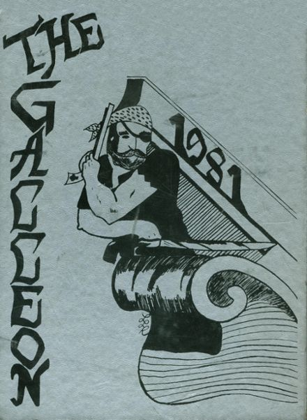 1981 Toms River East High School Yearbook Cover