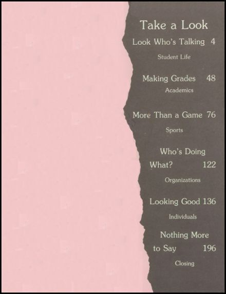 1989 Sierra Vista High School Yearbook Page 3
