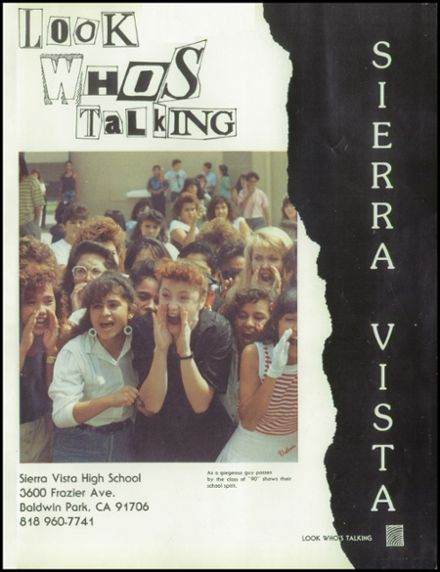 1989 Sierra Vista High School Yearbook Page 5