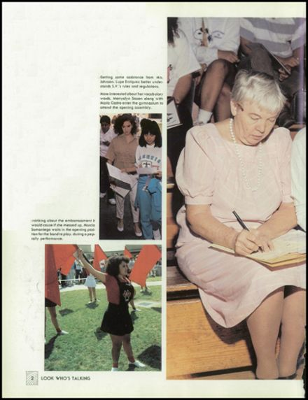 1989 Sierra Vista High School Yearbook Page 6