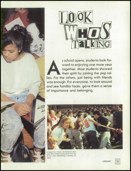 1989 Sierra Vista High School Yearbook Page 7