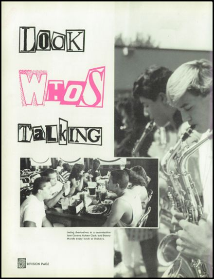 1989 Sierra Vista High School Yearbook Page 8