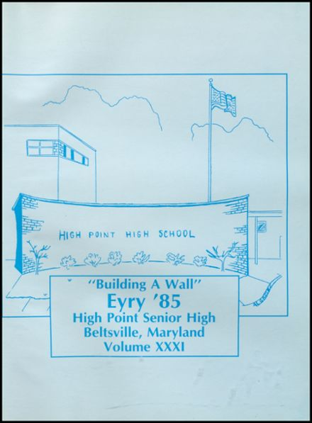 1985 High Point High School Yearbook Page 5