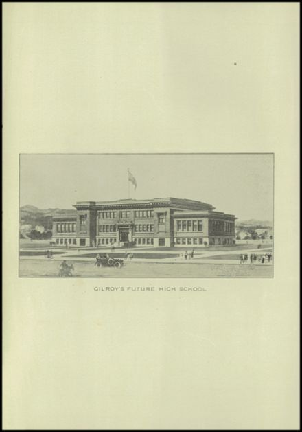 1911 Gilroy High School Yearbook Page 4