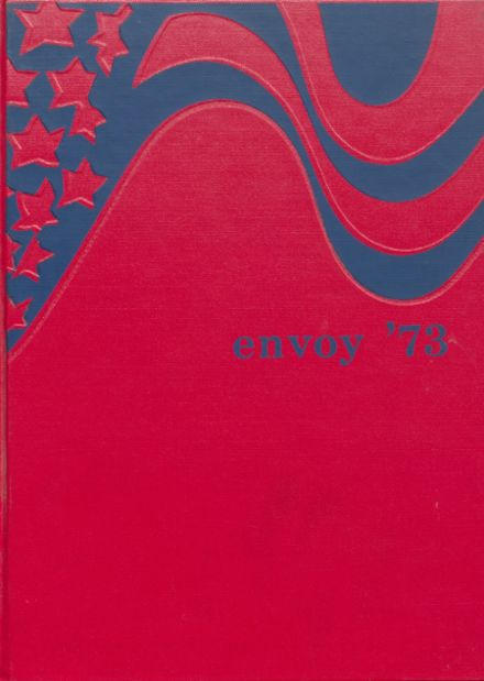 1973 L'Anse High School Yearbook Cover