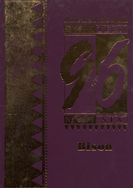 1996 Cross Plains High School Yearbook Cover