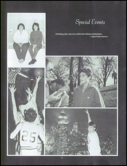 1986 Neche High School Yearbook Page 7