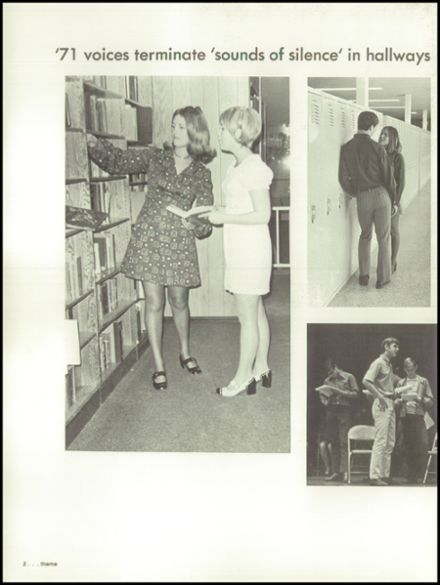1971 Kearney High School Yearbook Page 6