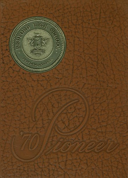 1970 Bedford High School Yearbook Cover