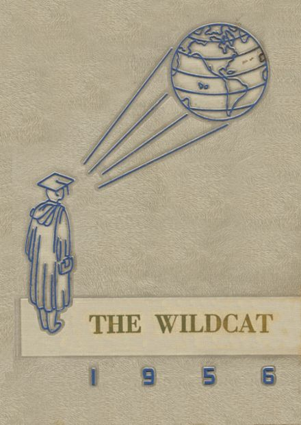 1956 Welch High School Yearbook Cover