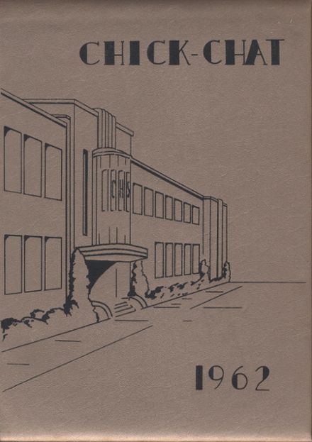 1962 Chickasha High School Yearbook Cover