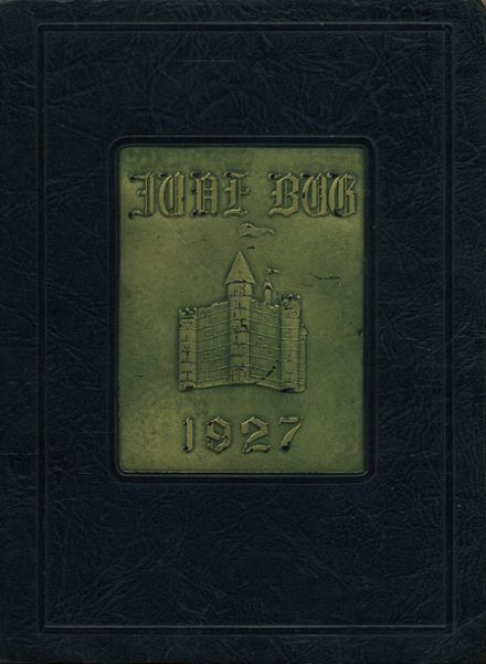 1927 Catonsville High School Yearbook Cover