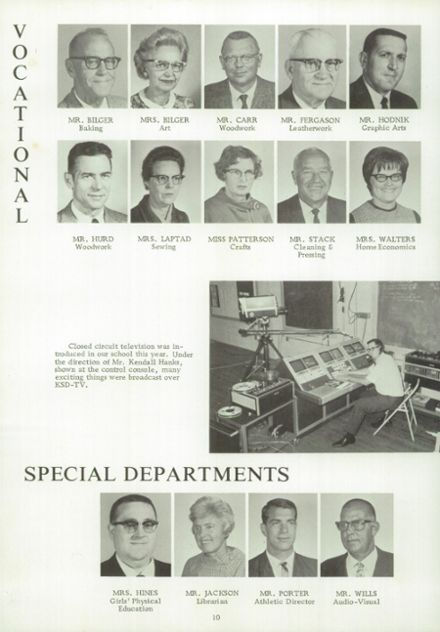 1969 Kansas State School for the Deaf Yearbook Page 8