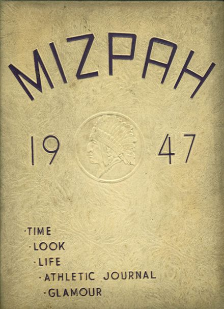 1952 Burns Union High School Yearbook Cover