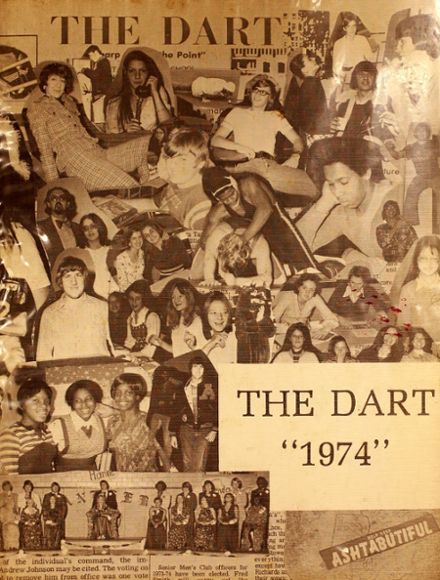 1974 Ashtabula High School Yearbook Cover