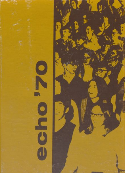 1970 Plains High School Yearbook Cover