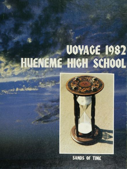 1982 Hueneme High School Yearbook Cover