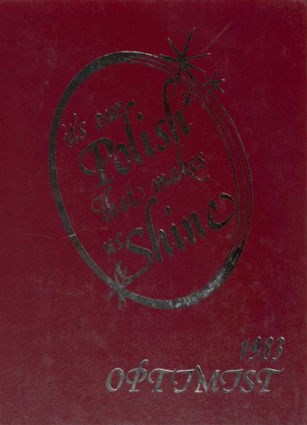 1983 Middletown High School Yearbook Cover