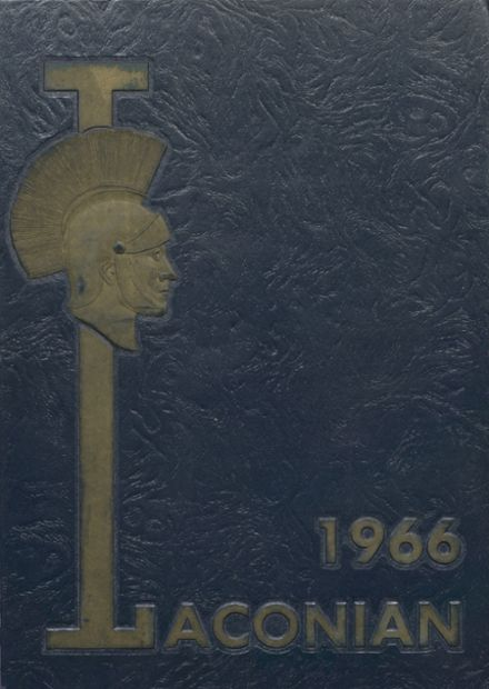 1966 North High School Yearbook Cover