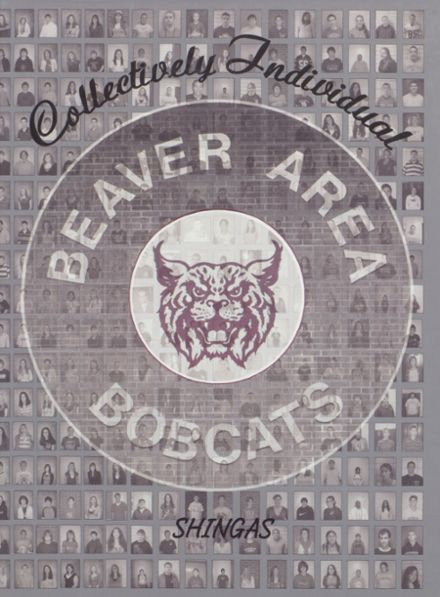 2008 Beaver Area High School Yearbook Cover
