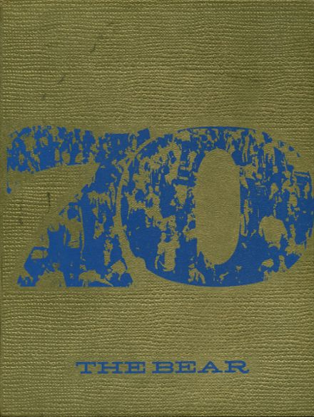 1970 Central Valley High School Yearbook Cover