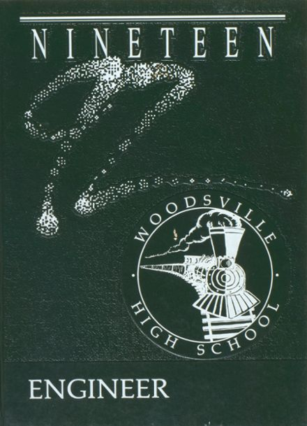 1992 Woodsville High School Yearbook Cover